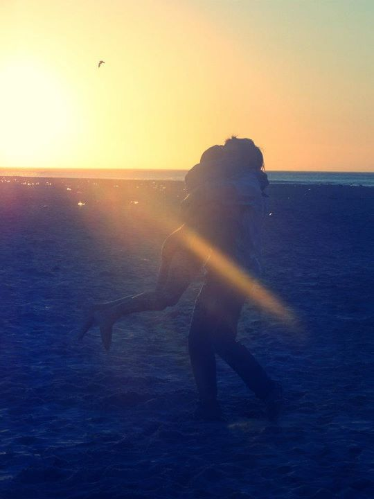 beach, couple, girl, love, summer