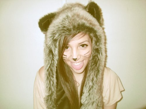 bear, cute, girl, hat, pretty
