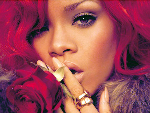 beautiful, beauty, red, red hair, rihaana, rihanna