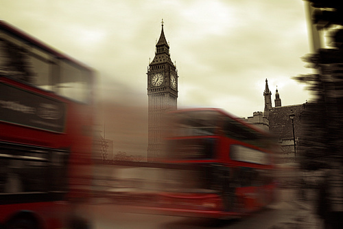 beautiful, big ben, bus, england, london