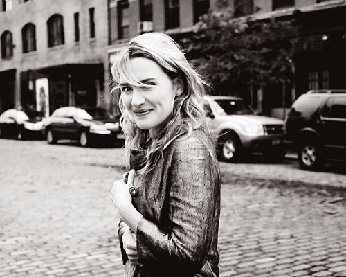 beautiful, black & white, kate winslet