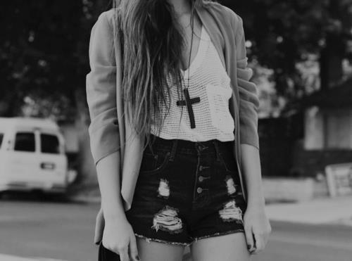 beautiful, black and white, skinny