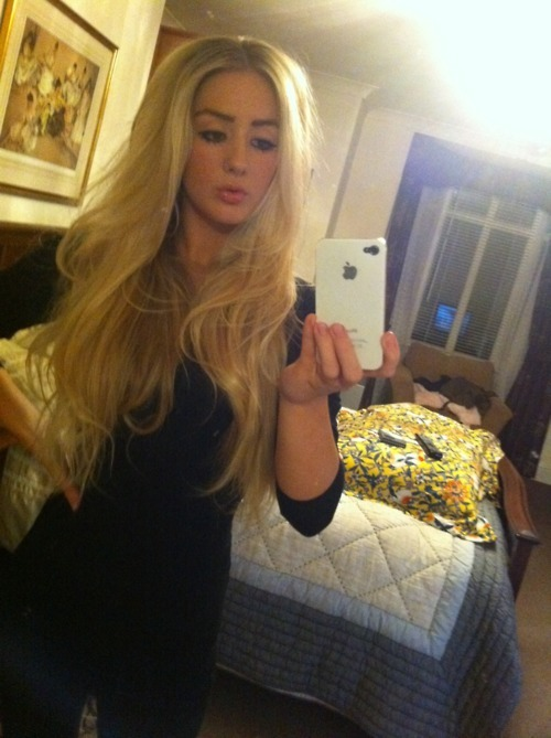 beautiful, black, blond hair, blonde, clothing
