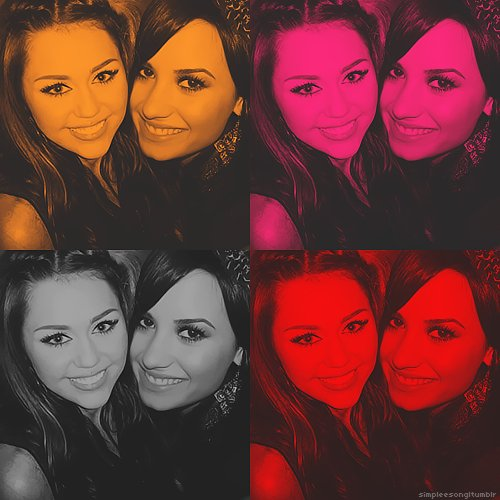 beautiful, black, demi lovato, eyes, friends