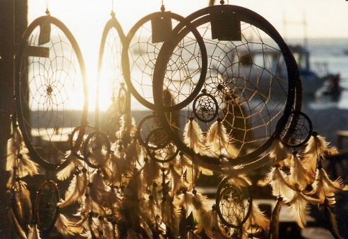 beautiful, black, dream catcher, dreamcatcher, dreams, feather, feathers, hippie, indie, magic, pretty, summer, sun, sunlight, sunrise, urban, vintage