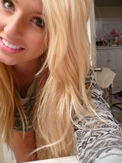 pretty blonde hairstyles : beautiful, blonde, cool, cute, fashion, girl, hair, photo, photography ...
