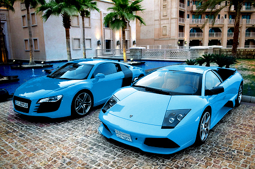 beautiful, blue, car, fashion, hot, luxury, pretty, summer