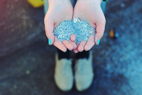 beautiful, blue, cute, glitter