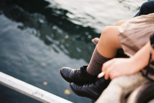 beautiful, boots, fashion, girl, lomo