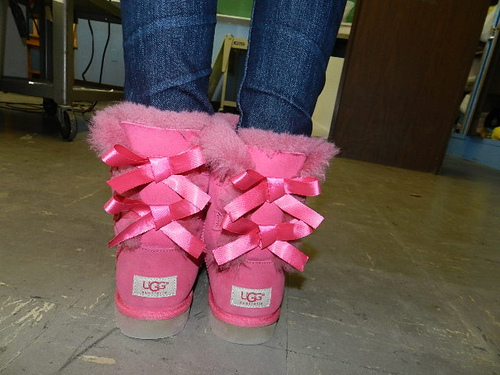 beautiful, bows, fashion, pink, ribbons, ugg, ugg australian, ugg boots, uggs