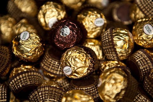 beautiful, chocolate, delicious, ferrero rocher, food