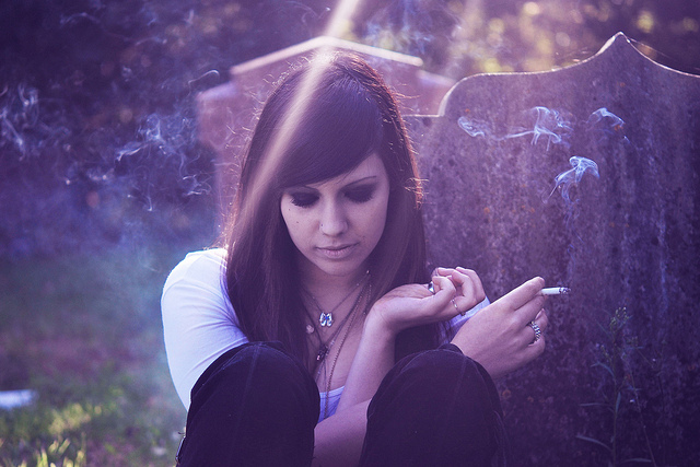 beautiful, cigaret, eyes, fashion, ghost