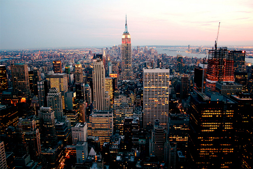beautiful, city, fashion, lights, new york