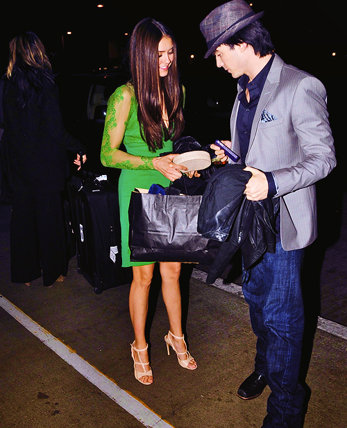beautiful, couple, ian somerhalder, nian, nina dobrev