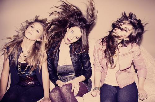 beautiful, couro, fashion, friends, hair