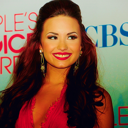beautiful, demi lovato, diva, fashion, girl, red lips