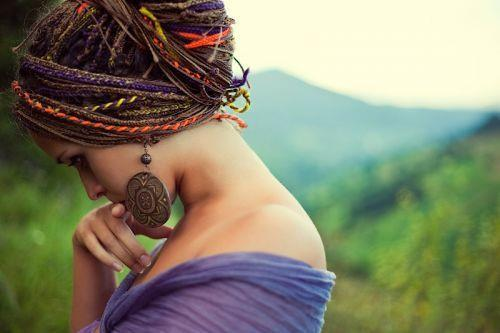 beautiful, dreadlocks, dreads, earings, girl, hair, pretty