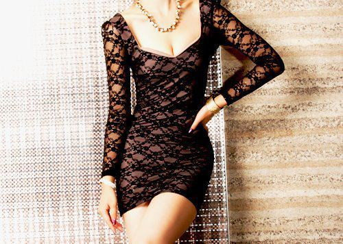 beautiful, dress, fashion, girl, girly, lace, mini dress