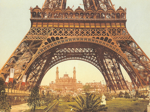 beautiful, eiffel tower, love, vintage