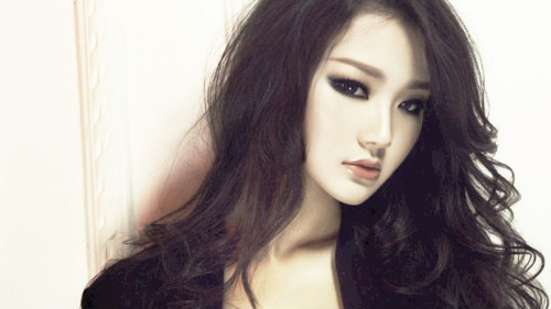 beautiful, fashion, girl, haiir, korean, korean girl, make, make -up, model