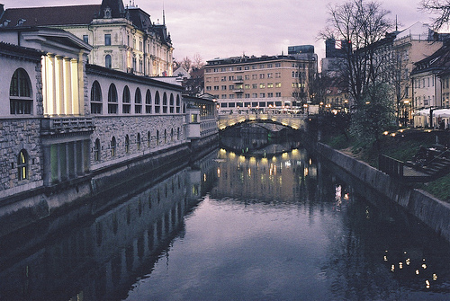beautiful, landscape, paris, river, vintage