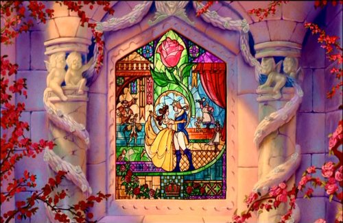 beauty and the beast, belle, disney, love