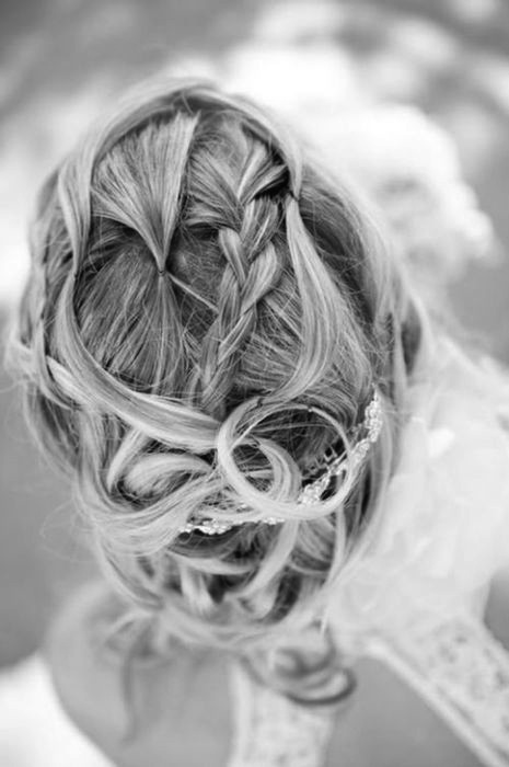 beauty, blonde, braid, brown, fashion