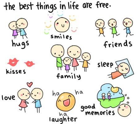 best things, cute, family, friends, good, hug, kiss, laughter, life, love, memories, people, quotes, sleep, smile, sweet