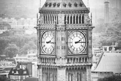 big ben, black and white, clock, london, photography