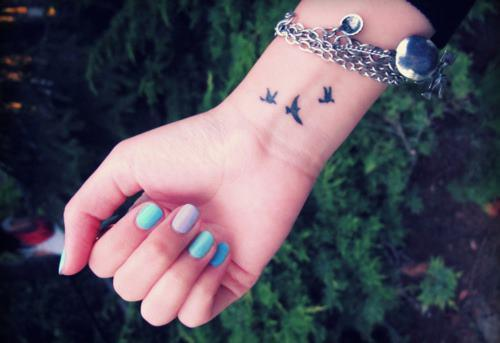 bird, birds, bracelet, freedom, girl