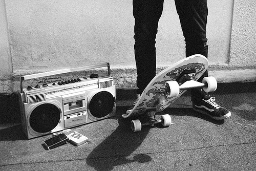 black and white, boy, sk8, skate, vans