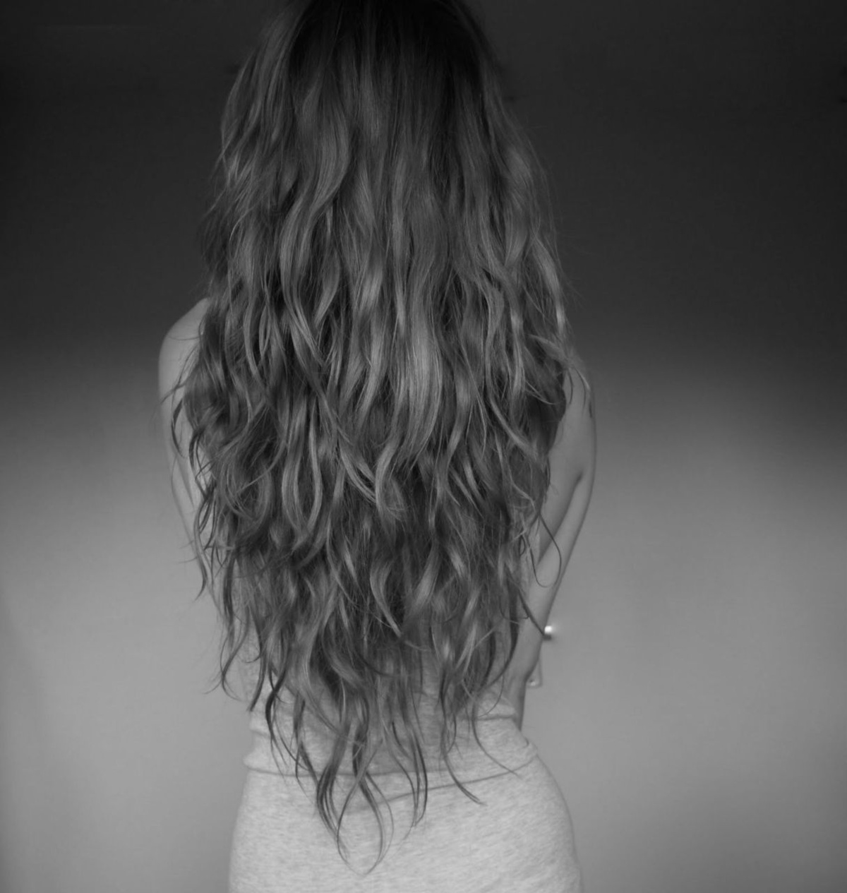 black and white, girl, hair, nadia esra