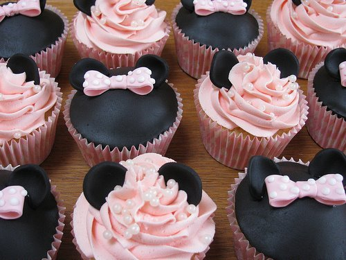 black, cool, cupcake, delicious, photo, photography, pink, pretty, sweet