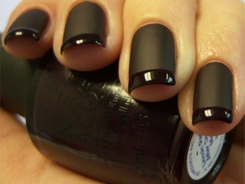 black, cool, cute, fashion, nails