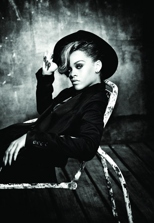 black, old style, photography, rihanna, style, talk that talk, white