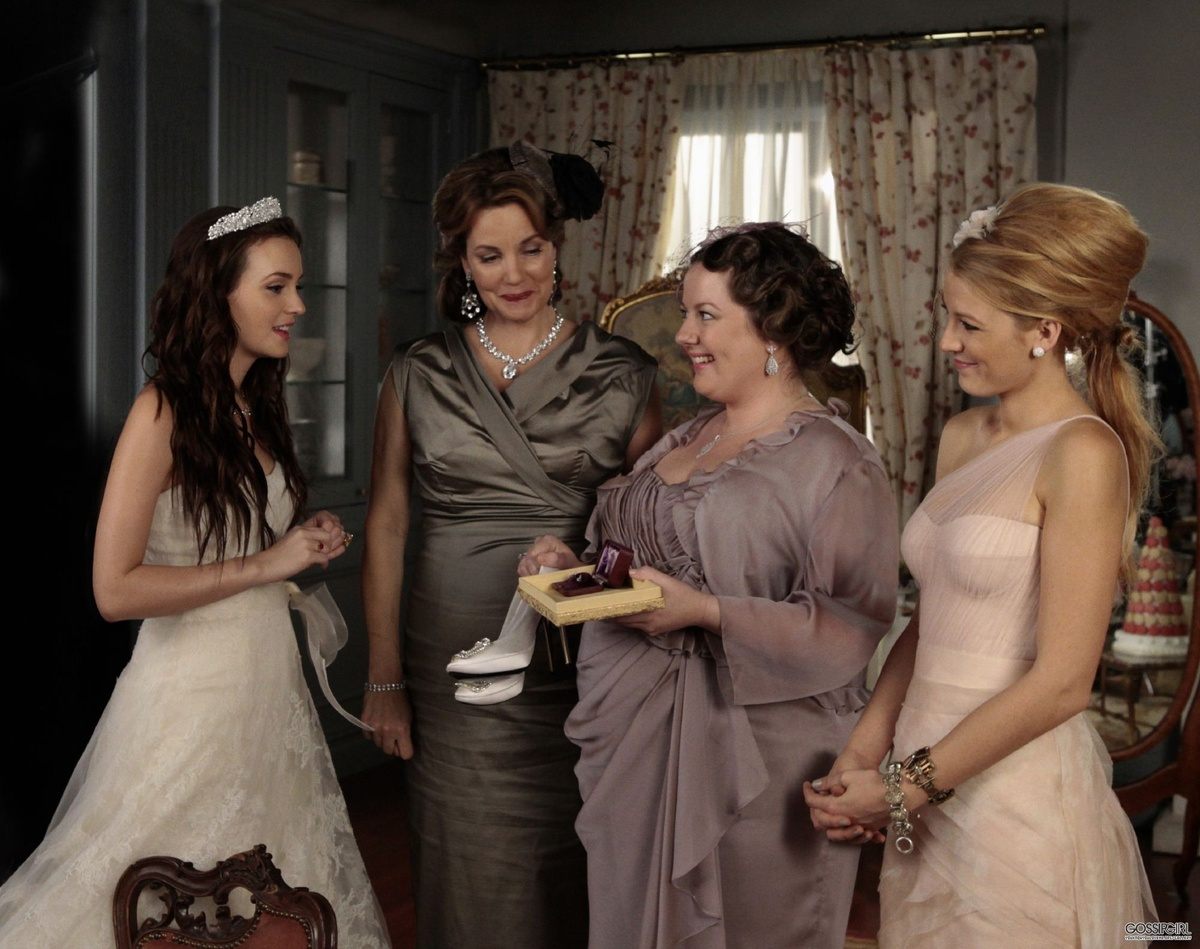 blair, gossip girl, serena, wedding
