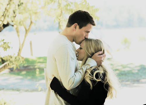 blonde, couple, cute, dear john, girl, hug, kiss, love, man