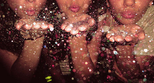 blowing, party, photography, sparkles