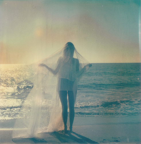 blue, dreamlike, dreamy, ethereal, misty, ocean, pastel, sea, soft, sunrise, sunset, veil, water