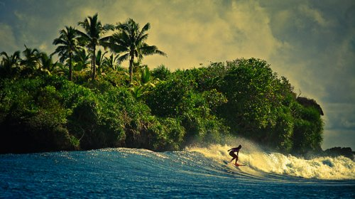 blue, island, nature, ocean, sea, sky, surf, surfer