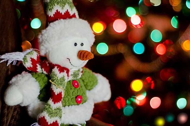 bokeh, christmas, decoration, festive, macro