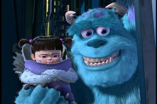 boo, cartoon, childhood, cute, lovely, monsters inc