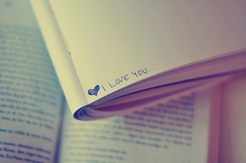 book, cute, love