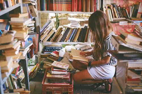 books, girl, smart, study, sweet