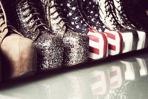 boots, shoes, sparkle, usa