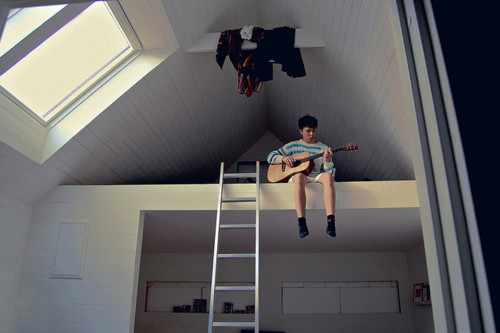 boy, confort, guitar, perfect, photograph, room