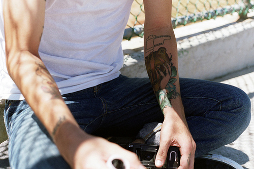 boy, cute, guy, photo, photography, tattoo, white