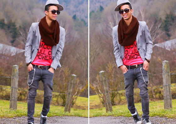 boy, fashion, men, scarf, shoes
