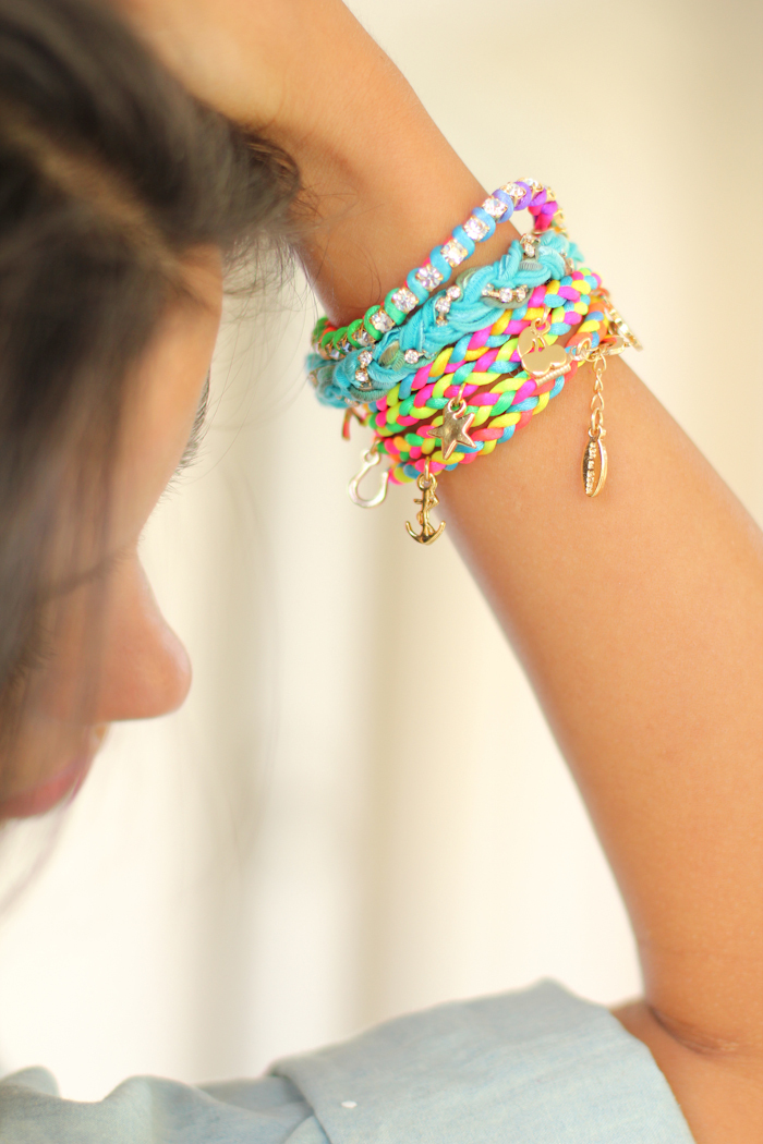 bracelets, colors, photography