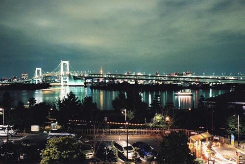 bridge, city, lights, new york, photography
